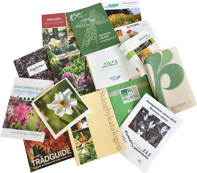 Plantskolekataloger