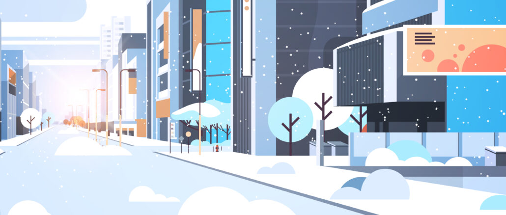 Markanläggningar Vinteranpassade